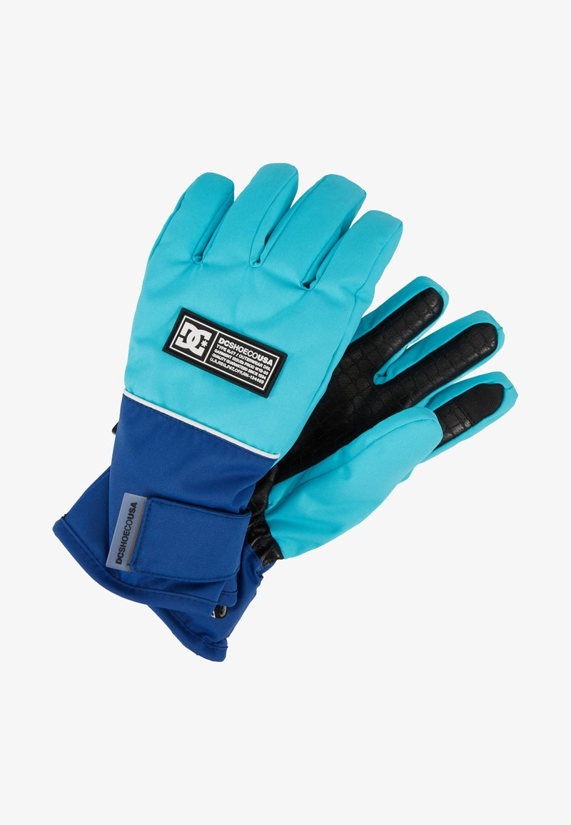 DC Shoes - FRANCHISE GLOVE - Gants - scuba blue