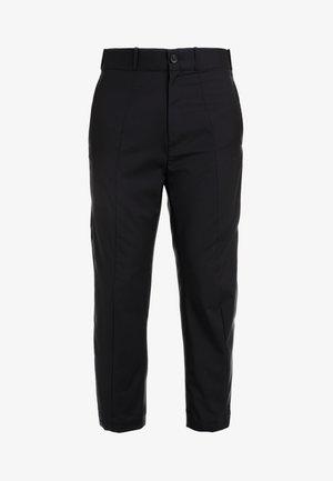 PIETARI - Pantalon de costume - black