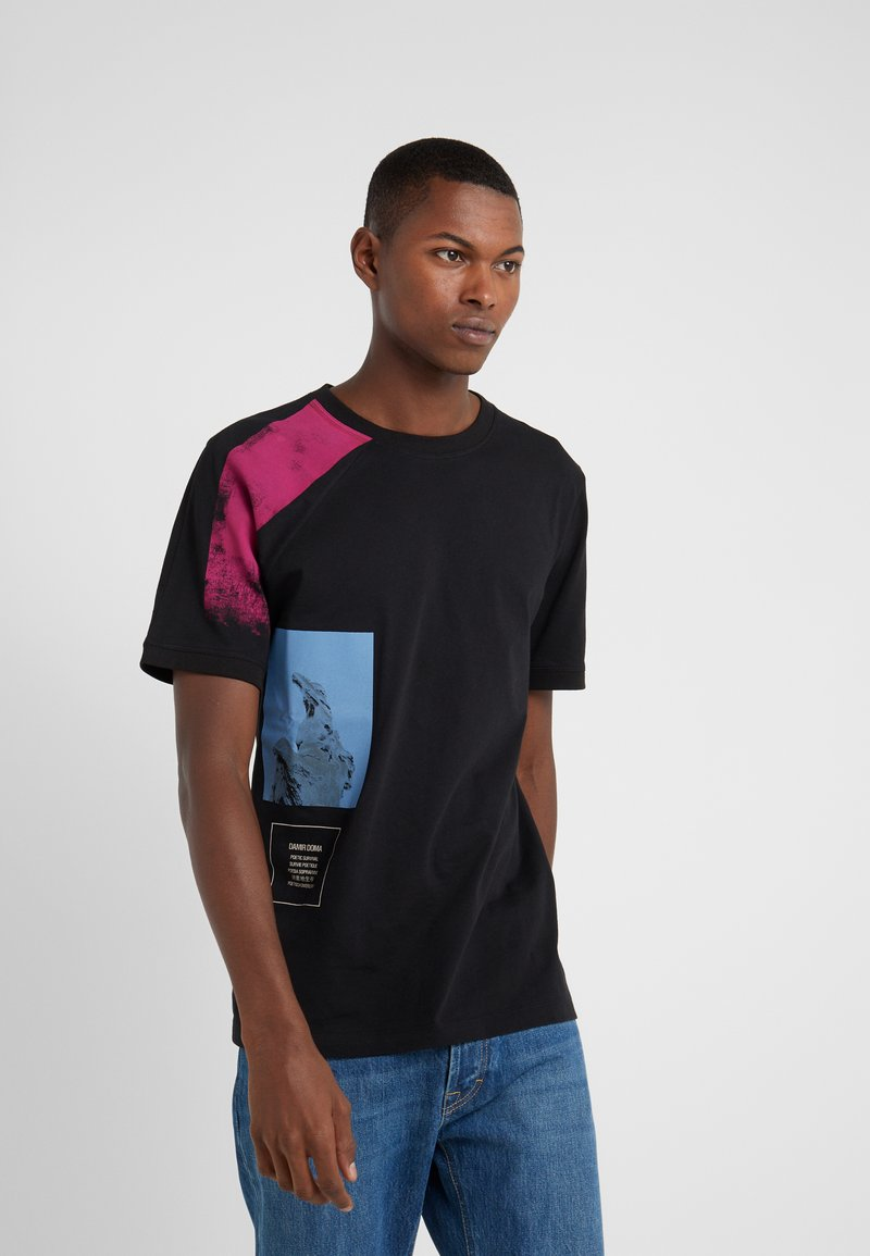 Damir Doma - TIES - T-shirt imprimé - black