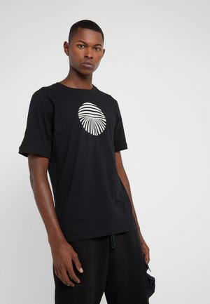 TIES - T-shirt imprimé - black