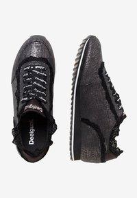 Desigual - PEGASO - Sneakers basse - black - 2