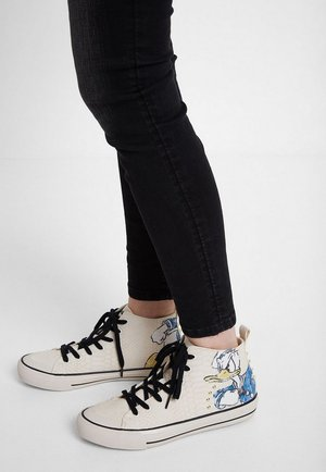 DONALD - High-top trainers - white