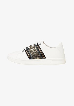 COSMIC EXOTIC GOLD - Sneakers basse - white