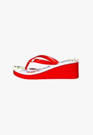 SHOES_LOLA_GALACTIC - Sandaler m/ tåsplit - white