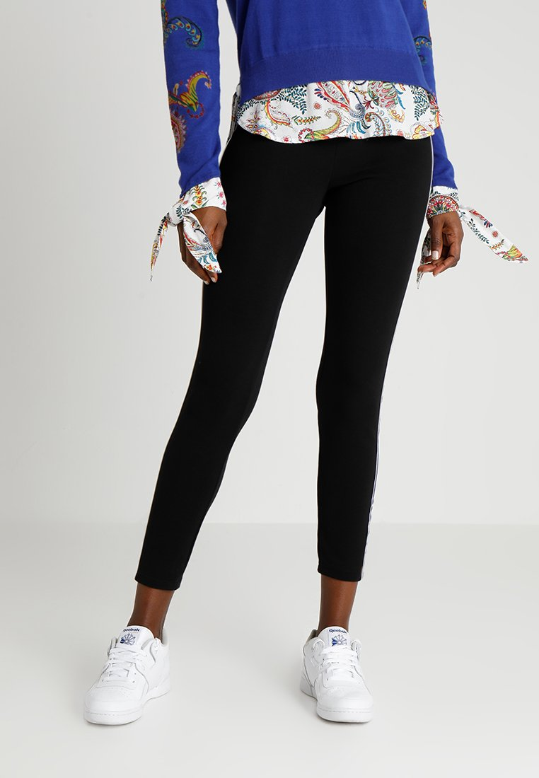 Desigual - SANDALO - Leggings - black