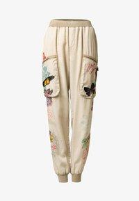 Desigual - PANT_EDDY - Spodnie materiałowe - brown - 6