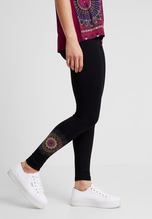 ALEXANDRA - Leggings - black