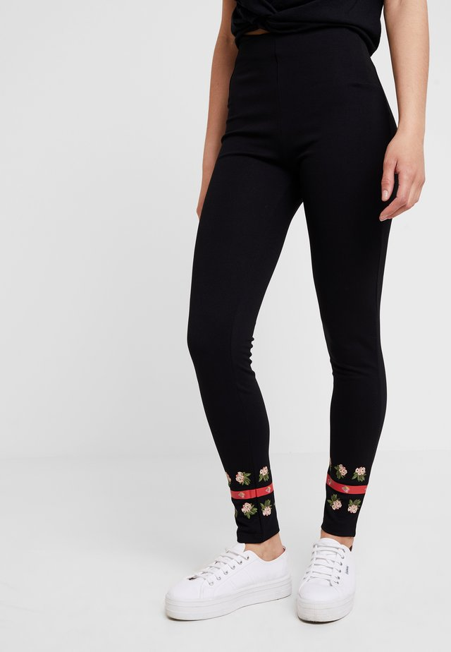 PANT AMANDA - Leggings - black