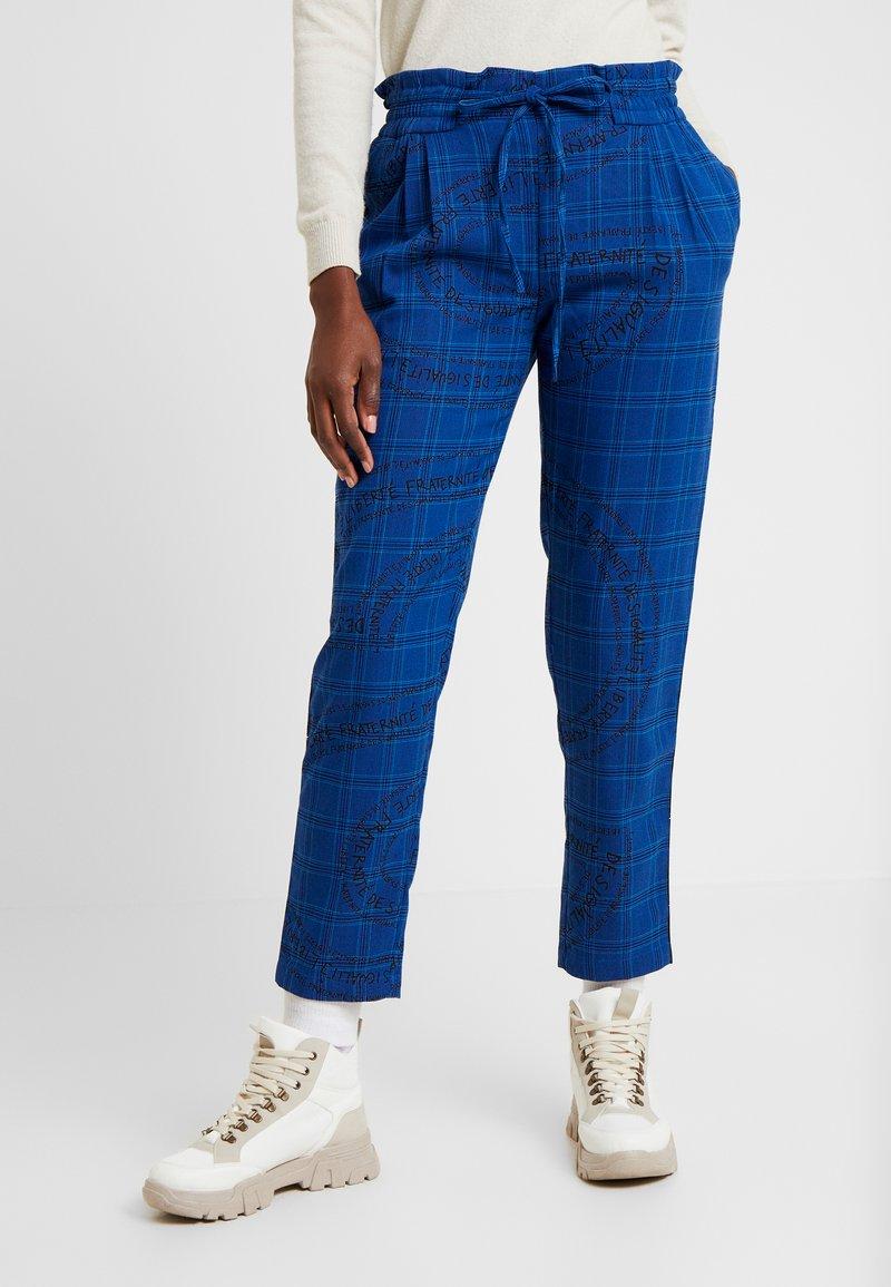 Desigual - PANT TURIN - Broek - royal blue