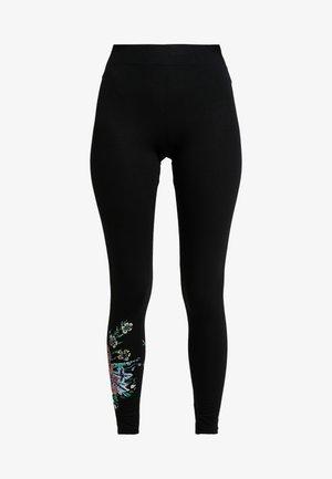 SOL - Leggings - Trousers - black