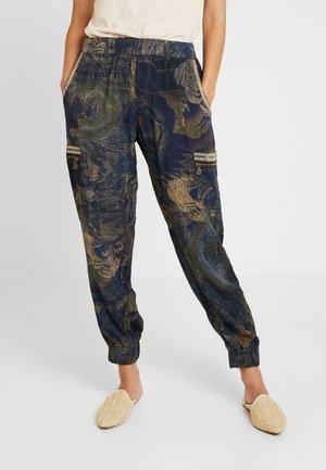 PANT YANIN - Pantalon classique - marino