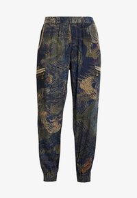 Desigual - PANT YANIN - Spodnie materiałowe - marino - 4