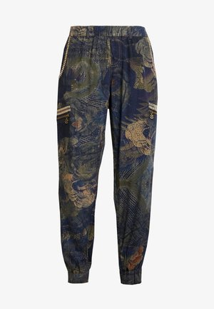 PANT YANIN - Pantaloni - marino