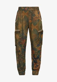 Desigual - PANT CORFU - Trousers - verde bosque - 3