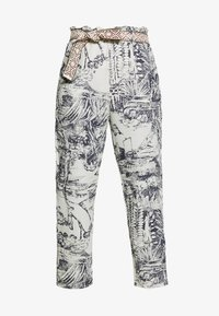 Desigual - PANT TROPICAL - Pantalones - crudo - 3
