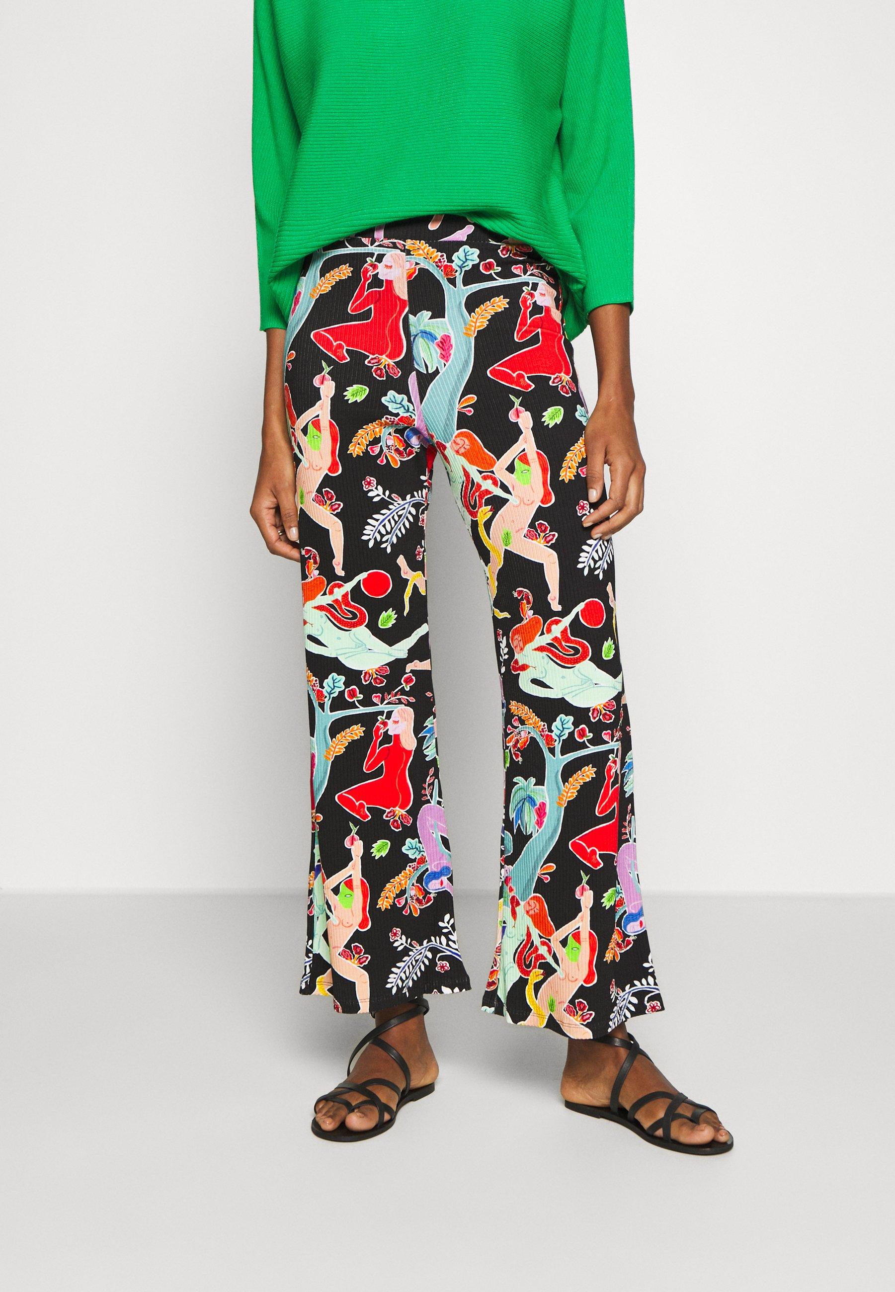 Desigual PANT MASILA - Spodnie materiałowe - tutti fruti