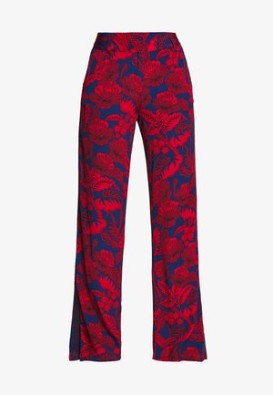 ERITREA - Trousers - red/blue