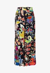 Desigual - DESIGNED BY CHRISTIAN LACROIX - Spodnie materiałowe - black - 4