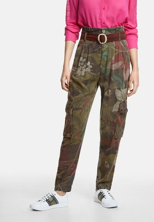 WILDYOU - Spodnie materiałowe - green