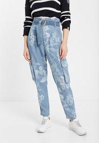 Desigual - DENIM_ALBIWON - Jeans slim fit - blue - 0