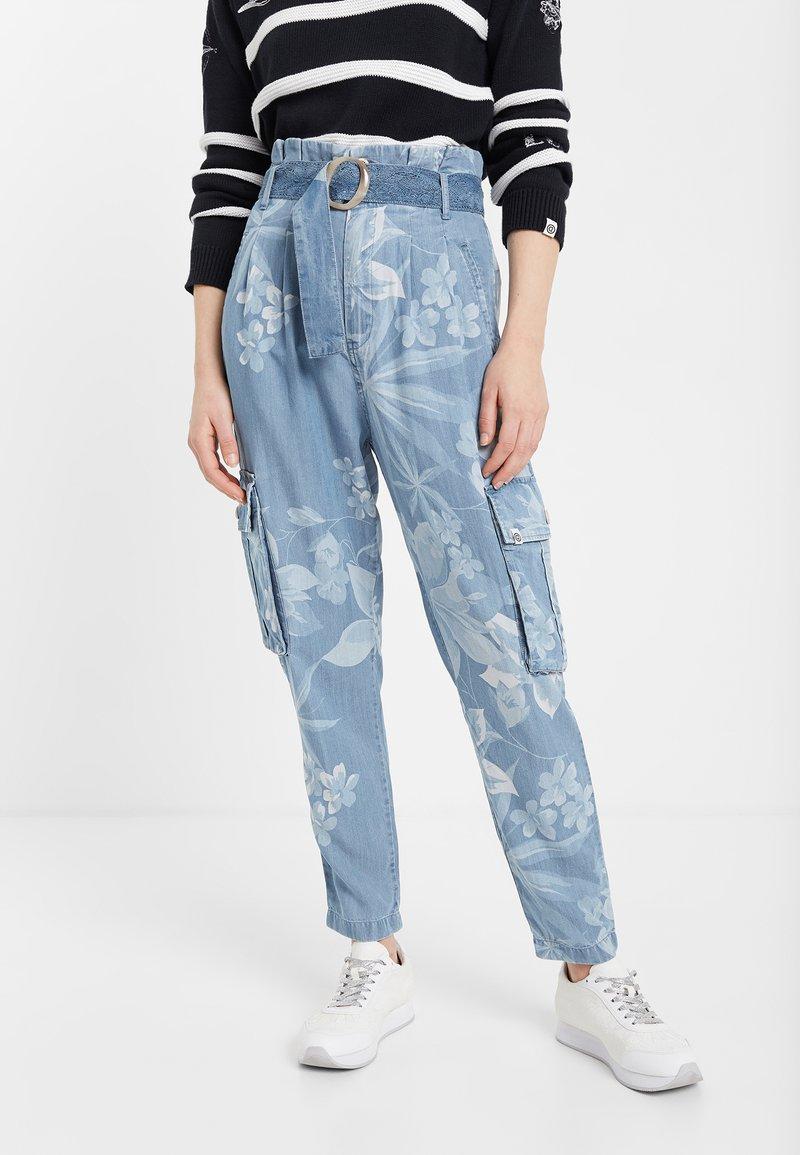 Desigual - DENIM_ALBIWON - Jeans slim fit - blue