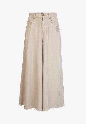PANT_PEACE - Pantalones - brown