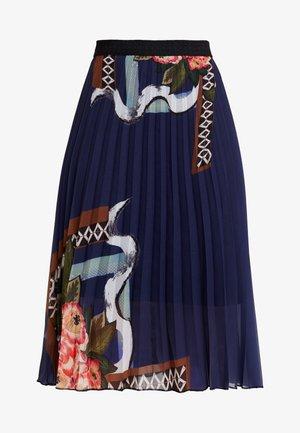 FABIOLA - A-line skirt - medieval blue