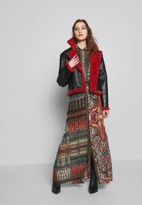 Desigual - FAL EGINA - Falda larga - rojo oscuro - 1