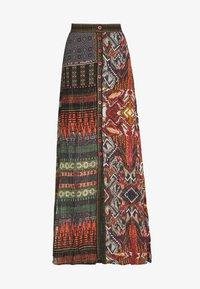 Desigual - FAL EGINA - Falda larga - rojo oscuro - 3