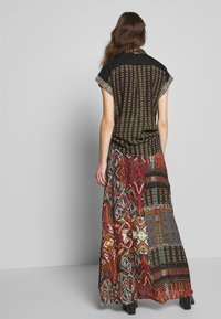 Desigual - FAL EGINA - Falda larga - rojo oscuro - 2
