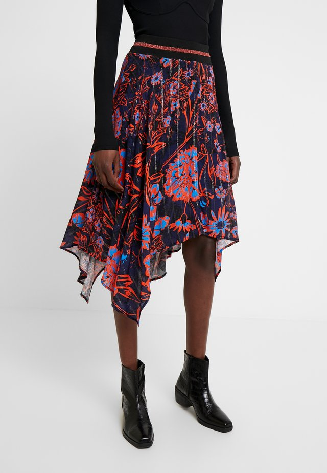 ITACA - A-line skirt - multi-coloured