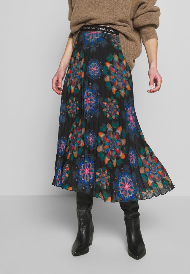 FAL DELOS - A-line skirt - multi-coloured