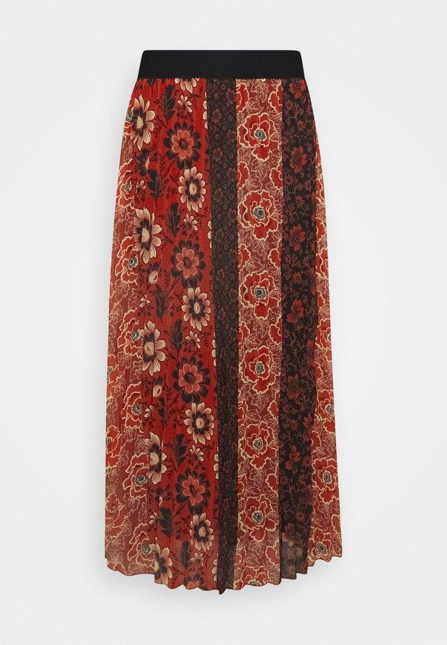 FAL ROSAL DESIGNED BY MR CHRISTIAN LACROIX - Długa spódnica - borgoña