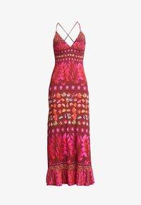 Desigual - VEST GRETA - Maxi šaty - red - 5