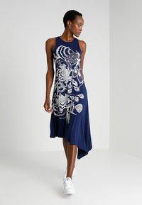 Desigual - VEST WAKIUT - Maxi dress - blue - 1