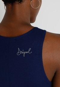 Desigual - VEST WAKIUT - Maxi dress - blue - 5