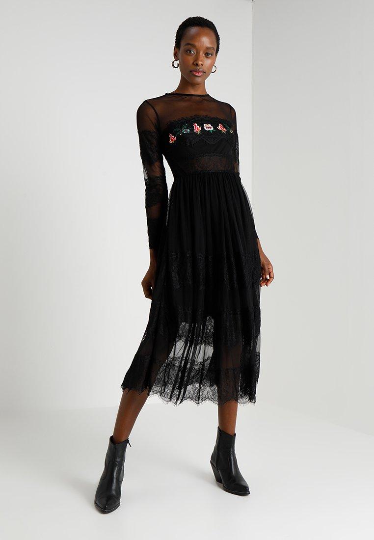 Desigual - SWEET - Day dress - black