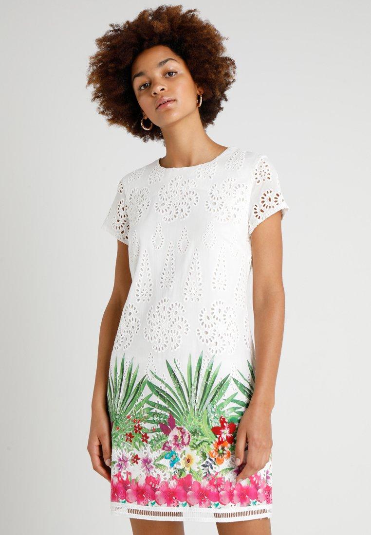 Desigual - DENVER - Korte jurk - white