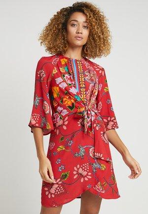 GLEN - Korte jurk - red
