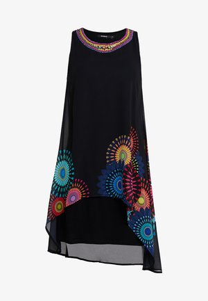 PORTIA - Korte jurk - black