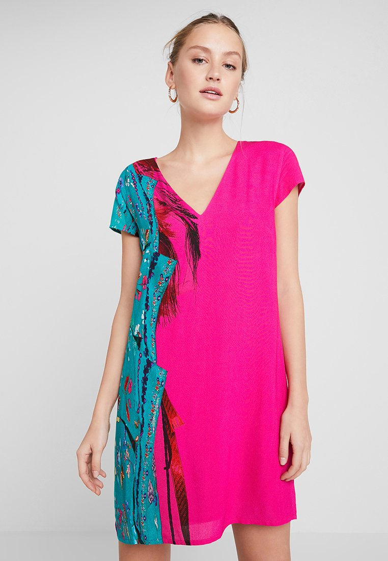 Desigual - VEST WALING - Robe d'été - pink