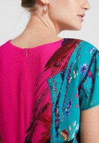 Desigual - VEST WALING - Robe d'été - pink - 5