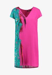 Desigual - VEST WALING - Robe d'été - pink - 4