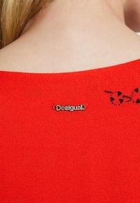 Desigual - VEST KODA - Vestido informal - red - 5