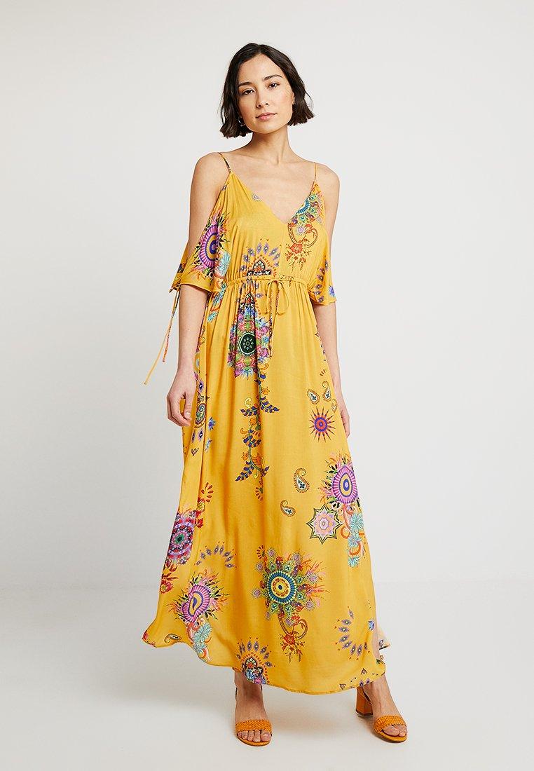 Desigual - CAROL - Maxi dress - amarillo freesia