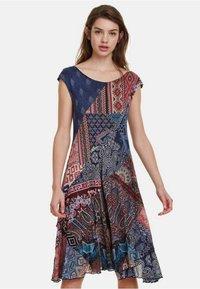 Desigual - Korte jurk - multicolor - 0