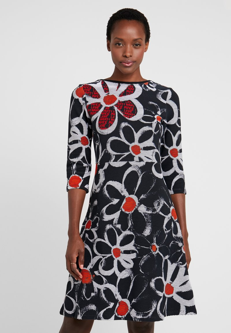 Desigual - VEST REBECA - Jersey dress - black