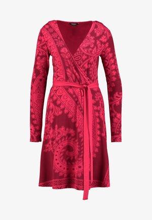 MARLENE - Jerseykjole - rojo oscuro