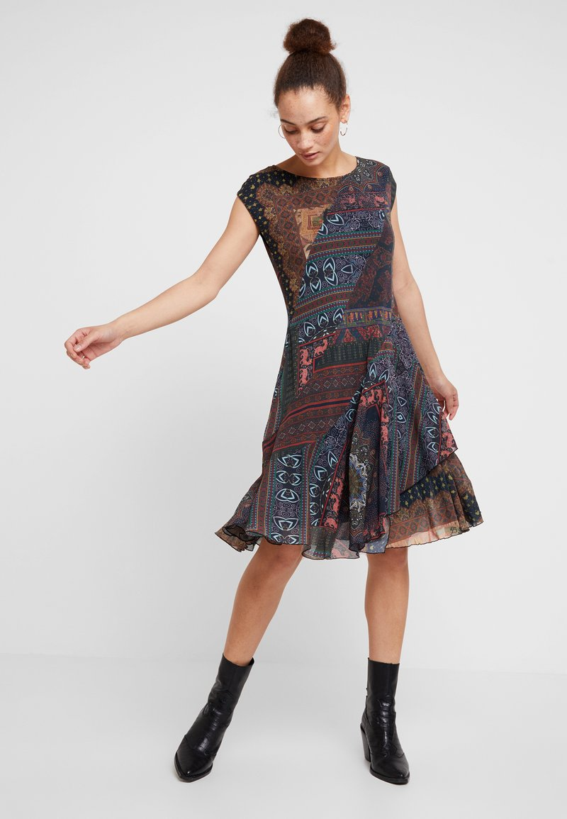 Desigual - GAELLE - Sukienka letnia - multicolor