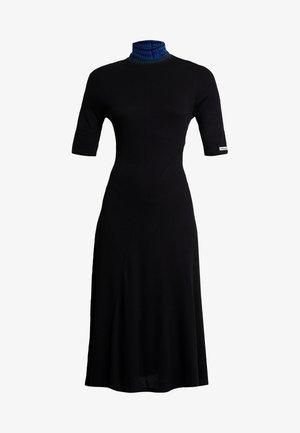 VEST LAUREN - Sukienka dzianinowa - black